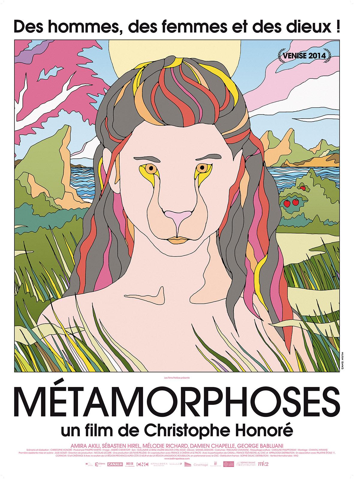 metamorphoses - affiche du film