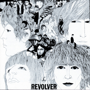 """The Beatles """"Revolver"""" high res cover"""