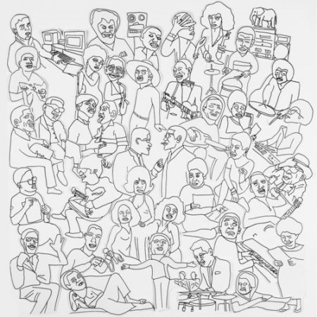 Romare Projections cover album Ninja Tune