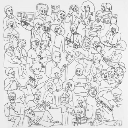 Romare Projections cover album Ninja Tune