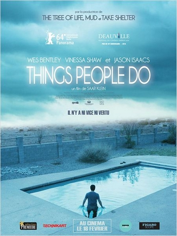 Things people do afiche film