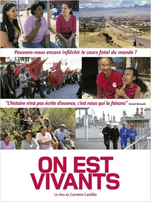 On est vivants : Affiche