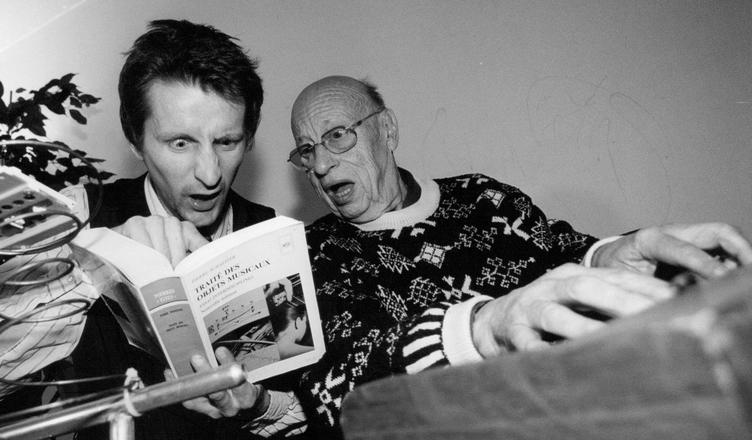 Jean-Jacques Perrey & David Chazam photo 2015 Freaksville Records