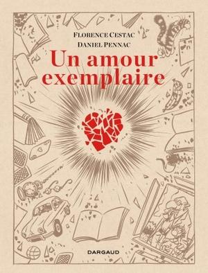 Un amour exemplaire - Daniel Pennac Florence Cestac - Dargaud - Planche