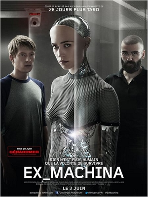 Ex Machina : Affiche