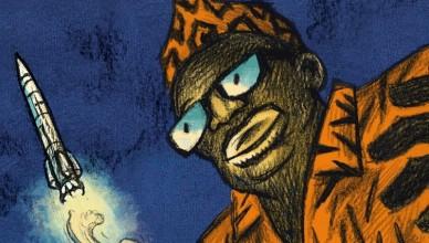 Mobutu dans l'espace - A. Ducoudray et E. Vaccaro - couverture - futuropolis
