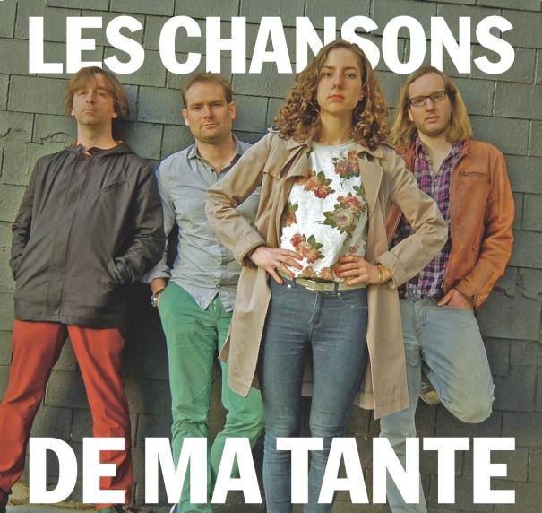 LES CHANSONS DE MA TANTE pochette album
