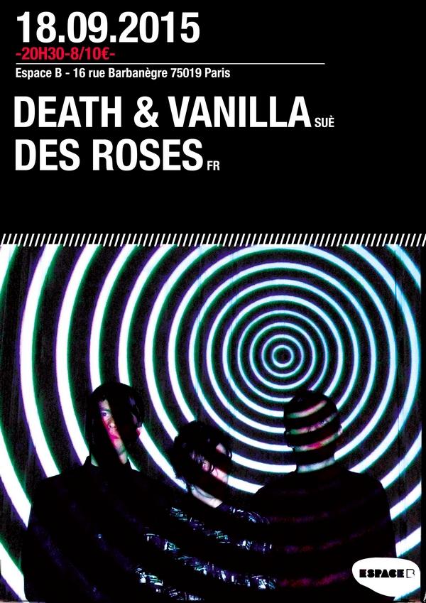 Death & Vanilla CONCERT le 18 septembre