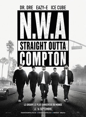 N.W.A - Straight Outta Compton - affiche