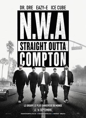 N.W.A - Straight Outta Compton - affiche