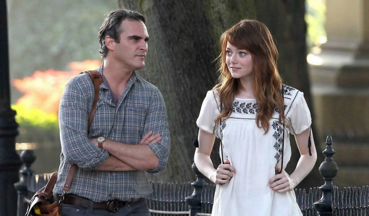 'Homme irrationnel : Photo Emma Stone, Joaquin Phoenix