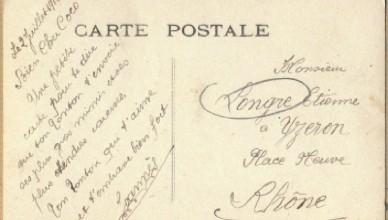Olivier Longre carte postale