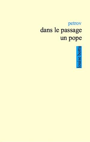 Dans le passage un pope de Petrov couverture