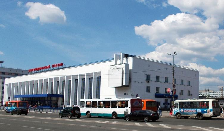 La gare ferroviaire de NIjni Novgorod