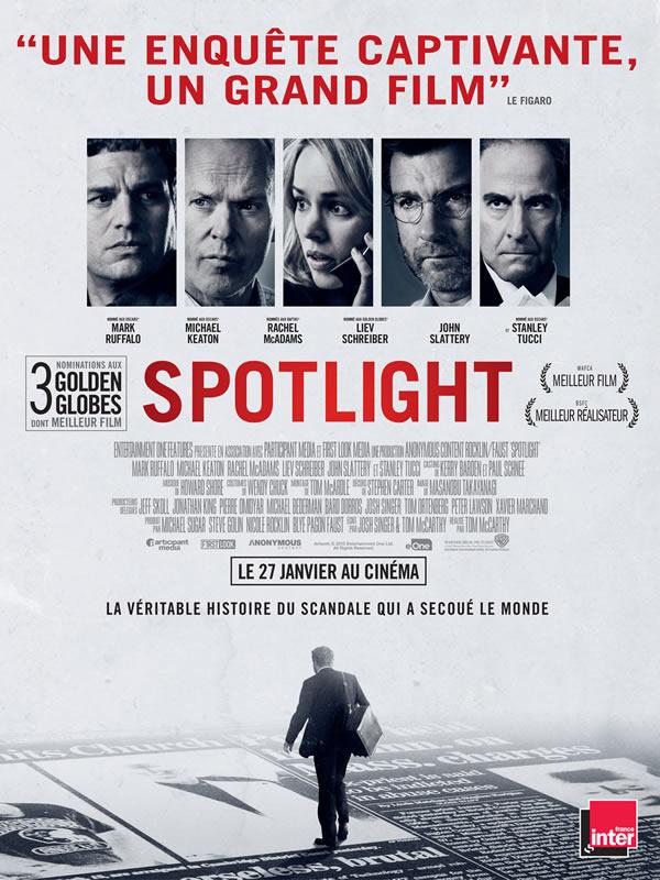 spotlight affiche film 2016