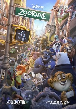 zootopie affiche du film Disney