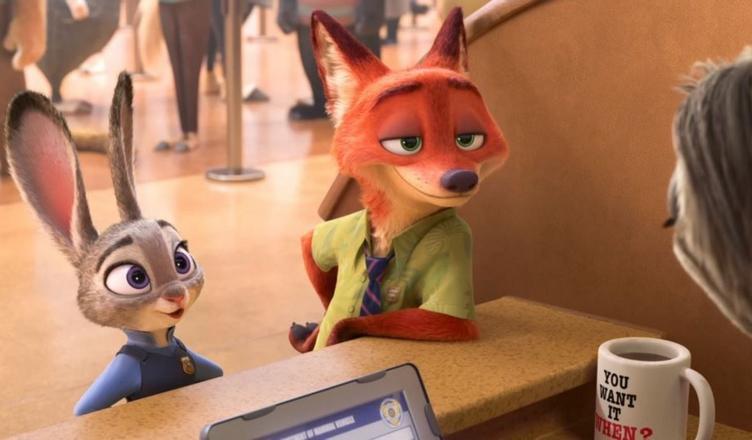 zootopie - film disney Pixar