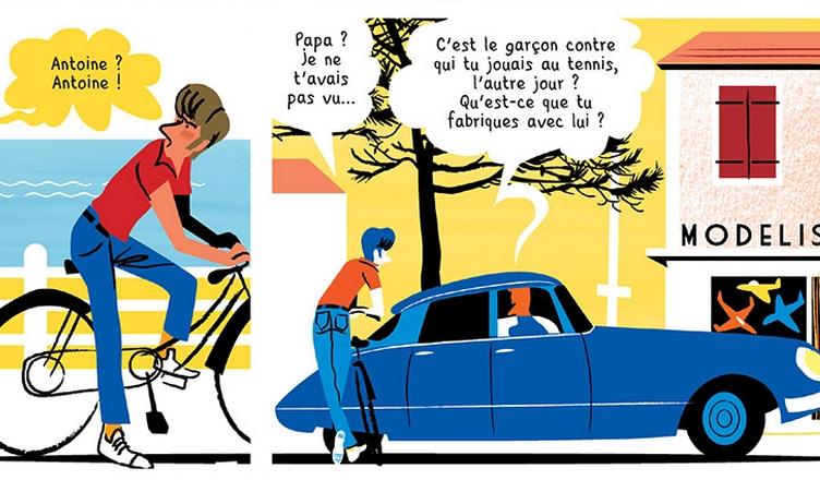 L'Été Diabolik, Thierry Smolderen et Alexandre Clérisse Planche