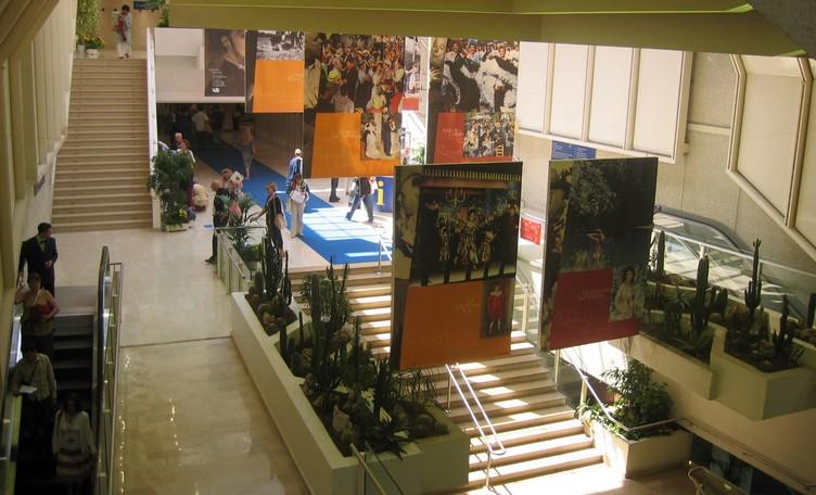 hall du palais des festival dre Cannes