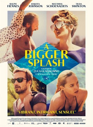 A Bigger Splash : Affiche