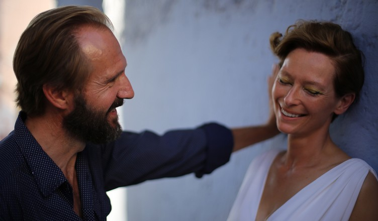 A Bigger Splash : Photo Ralph Fiennes, Tilda Swinton
