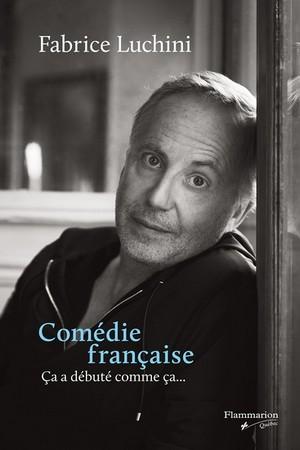 Comédie Française - Fabrice Luchini couverture