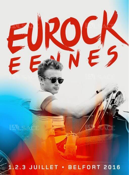 Eurockéennes 2016 affiche