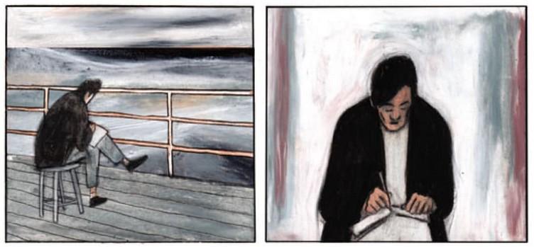 L'esprit rouge Antonin Artaud, un voyage mexicain - Zéphir et Maximilien Le Roy. Futuropolis