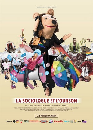 La Sociologue et l'ourson : Affiche
