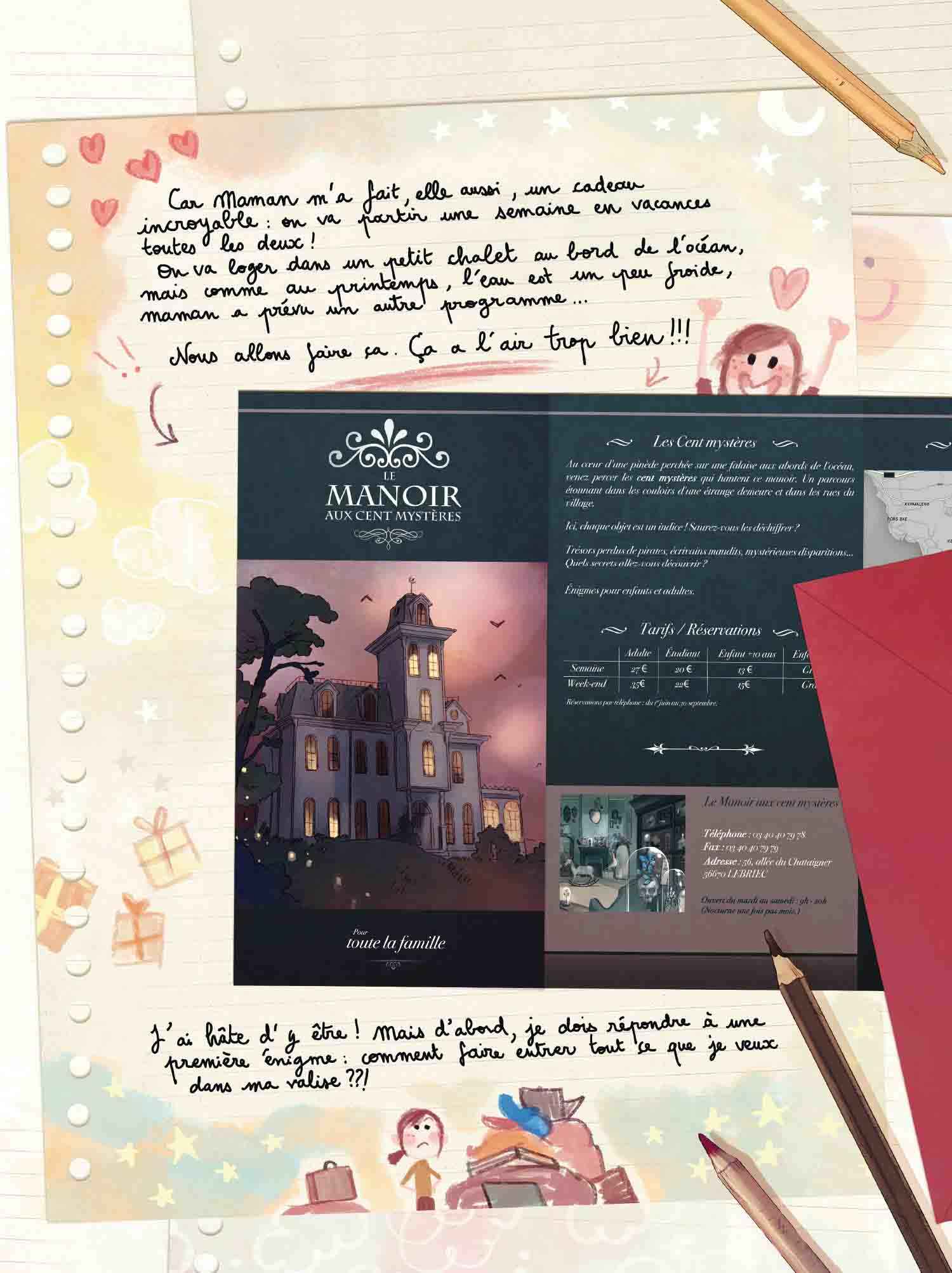 Les Carnets de Cerise t.4 : La déesse sans visage – Joris Chamblain & Aurélie Neyret