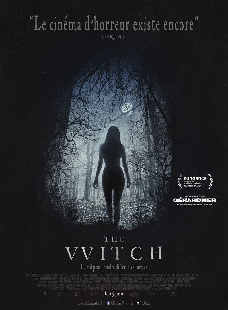 The witch affiche