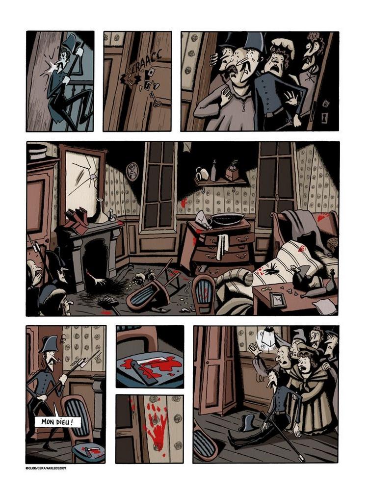 Céka et Clod – Double assassinat dans la rue Morgue