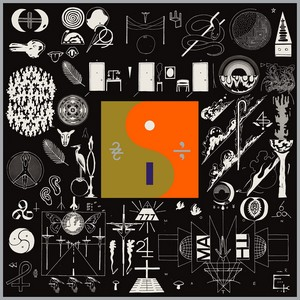 Bon Iver – 22 A Million cover album