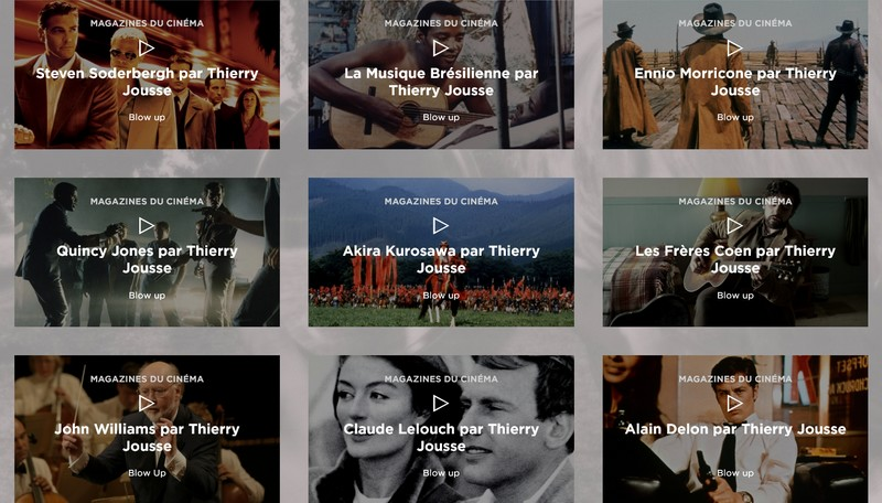 Le cinéma et ses musiques mythiques racontés par Thierry Jousse