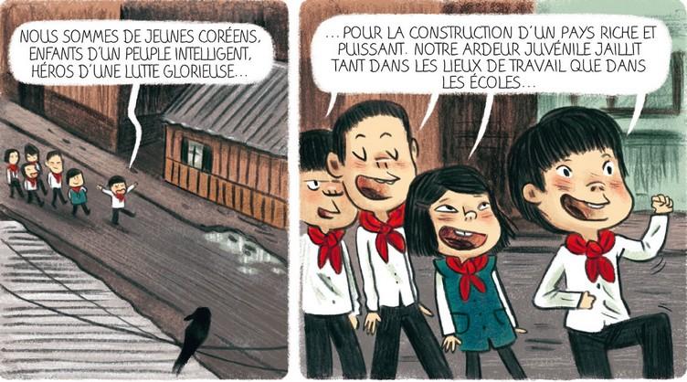 L'Anniversaire de Kim Jong-il extrait Delcourt