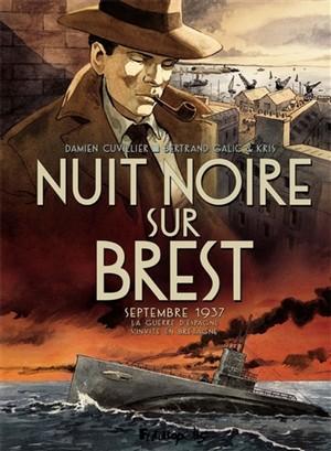 Nuit Noire sur Brest couverture - futuropolis