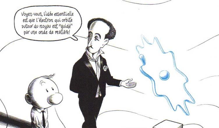 Le Mystère du monde quantique – Burniat & Thibault Damour