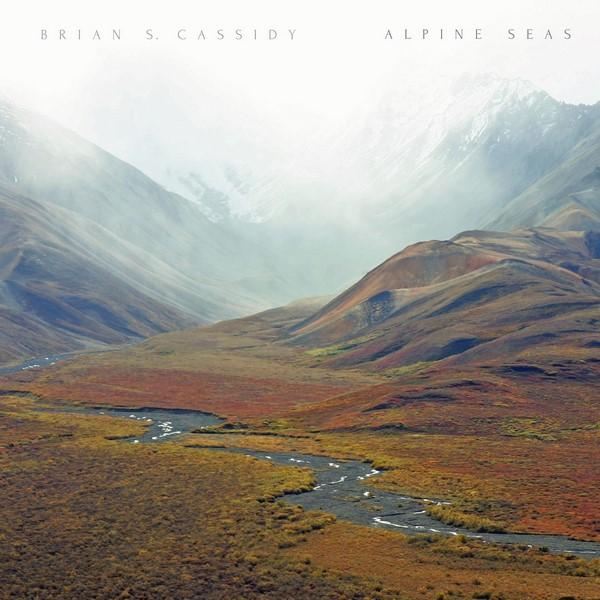 Brian S. Cassidy - Alpine Seas - cover album Microcultures
