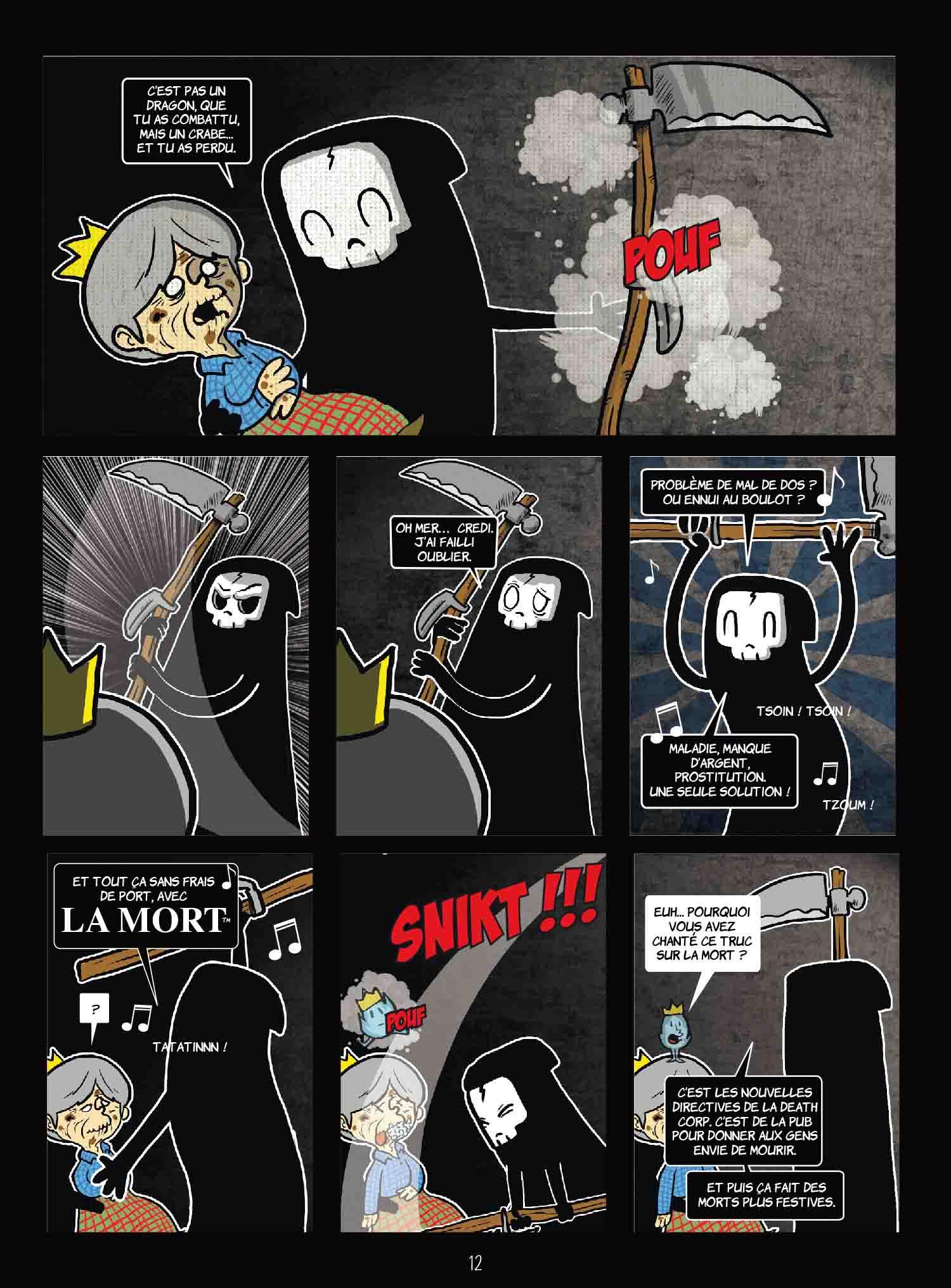 La Petite Mort(e) – Davy Mourier