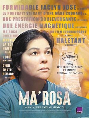 Ma'Rosa - Brillante Mendoza affiche