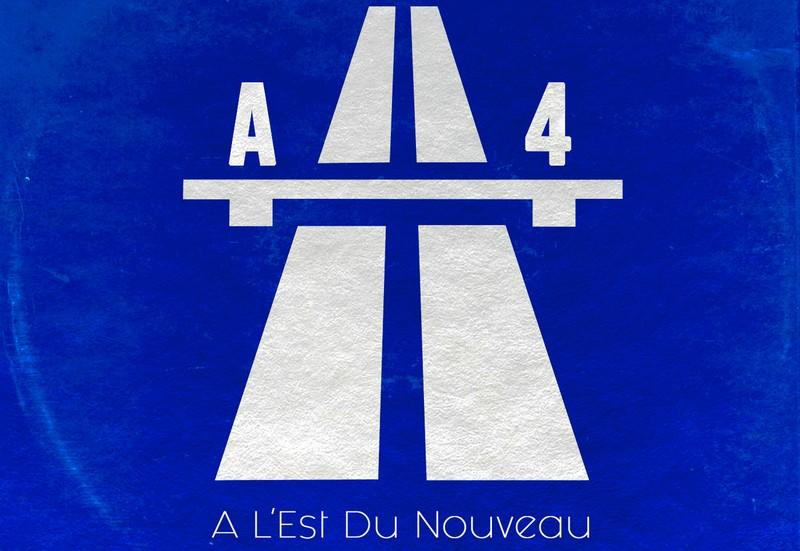 A L'Est du Nouveau a4 cover compilation