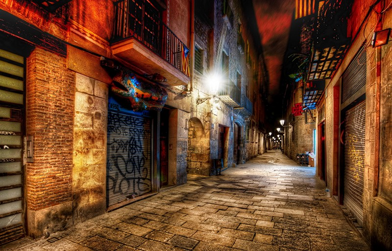 barcelone-nuit