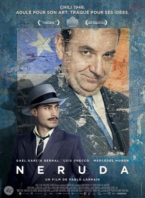 Neruda : affiche du film