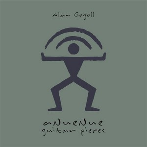 Alan Gogoll – Anuenue Guitar Pieces cover album