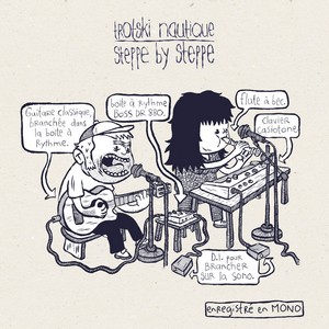 pochette album Trotski Nautique Steppe By Steppe