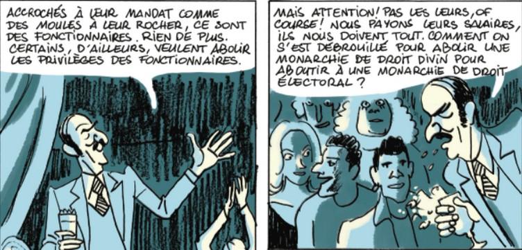 Le teckle Hervé Bourhis, Grégory Mardon