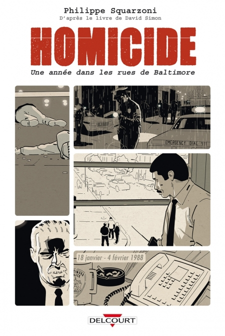 Homicide - Philippe Squarzoni