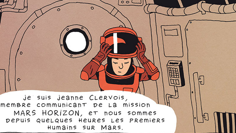 Mars Horizon – Erwann Surcouf & Florence Porcel