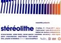 affiche Stéréolithe #4
