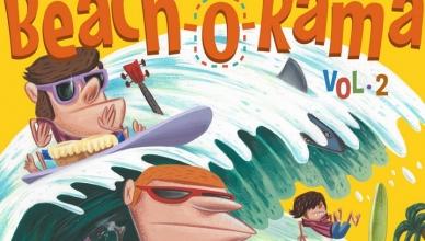 BEACH-O-RAMA vol 2 Platinum records